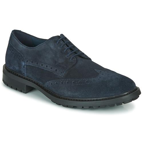 Shoes Men Derby Shoes Geox U BRENSON D Navy