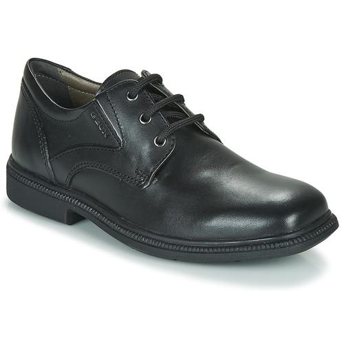 Shoes Boy Derby Shoes Geox J FEDERICO M  black