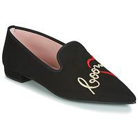 Shoes Women Flat shoes Pretty Ballerinas  Black