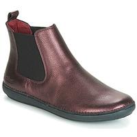 Shoes Women Mid boots Kickers FANTIN Purple