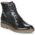 Kickers-OXIGENO-womens-Mid-Boots-in-Black