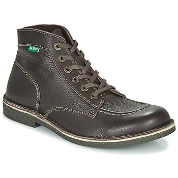 Shoes Men Mid boots Kickers KICKSTONER Brown / Dark