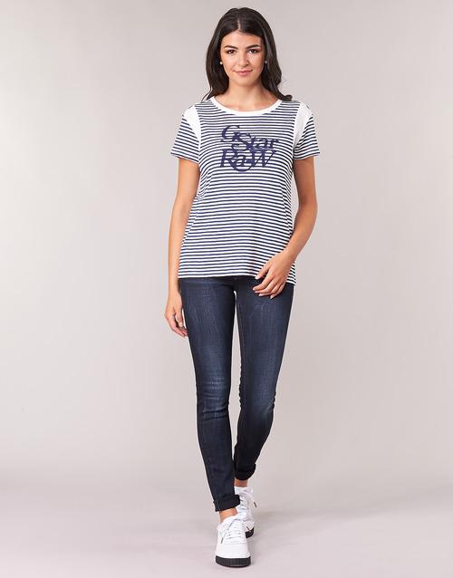 Clothing Women Skinny jeans G-Star Raw LYNN MID SKINNY WMN Blue / Faded / Blue