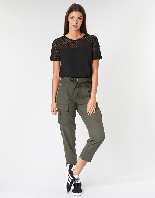 Clothing Women 5-pocket trousers G-Star Raw CHISEL BF PANT WMN Kaki