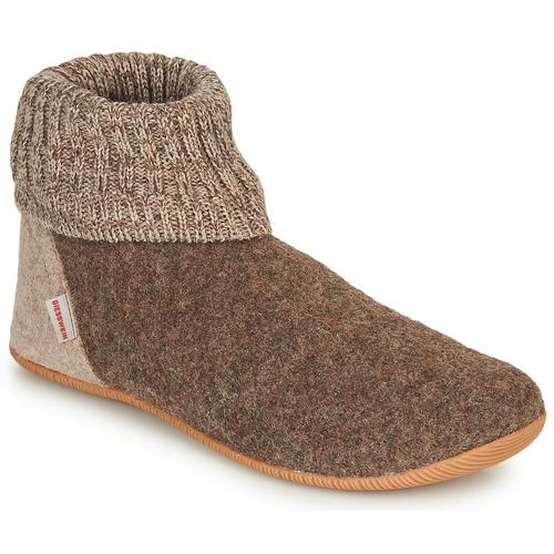 Shoes Women Slippers Giesswein WILDPOLDSRIED Taupe