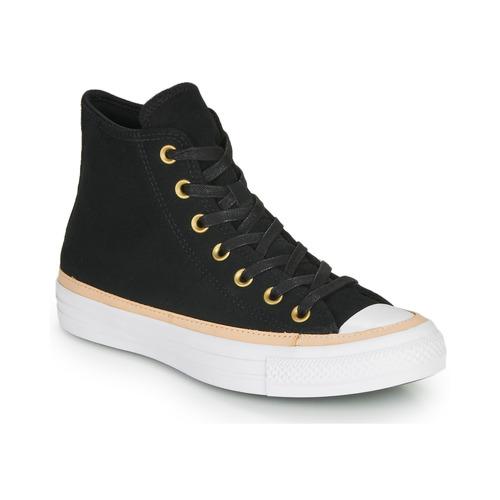Shoes Hi top trainers Converse CHUCK TAYLOR ALL STAR VACHETTA LEATHER HI Black