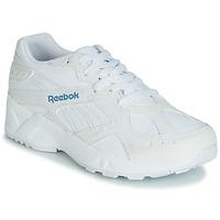 Shoes Women Low top trainers Reebok Classic AZTREK White / Blue