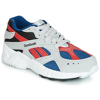 Shoes Boy Low top trainers Reebok Classic AZTREK J Grey / Red