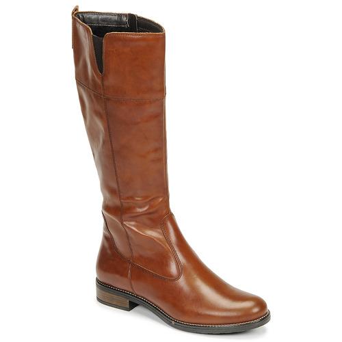 Shoes Women High boots Tamaris CARI Cognac