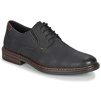 Shoes Men Derby Shoes Rieker 17600-03 Black