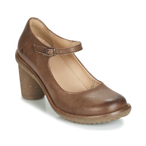 Shoes Women Heels El Naturalista TRIVIA Brown