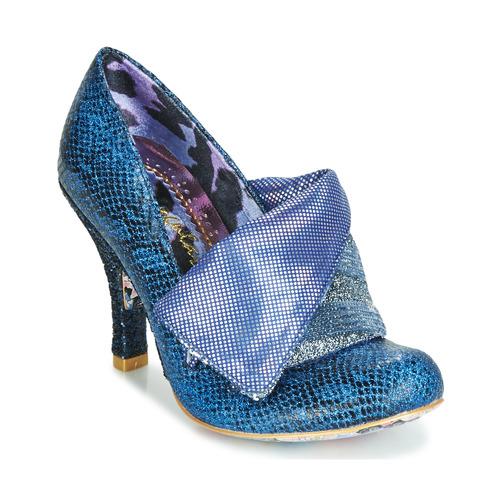Shoes Women Heels Irregular Choice FLICK FLACK Blue