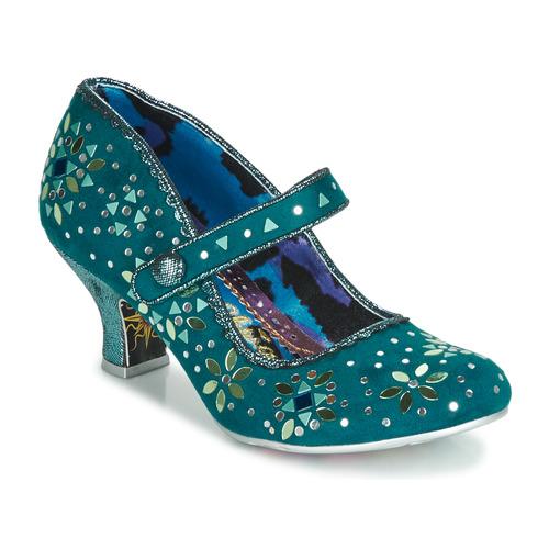 Shoes Women Heels Irregular Choice GLORY DAYS Blue
