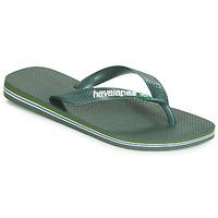 Shoes Flip flops Havaianas BRASIL LOGO Olive