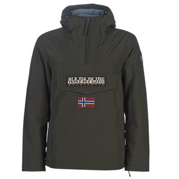 Clothing Men Parkas Napapijri RAINFOREST WINTER Kaki