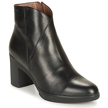 Shoes Women Ankle boots Wonders M3727-VELVET-NEGRO Black