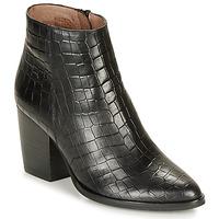 Shoes Women Ankle boots Wonders M4103-COCO-NEGRO Black