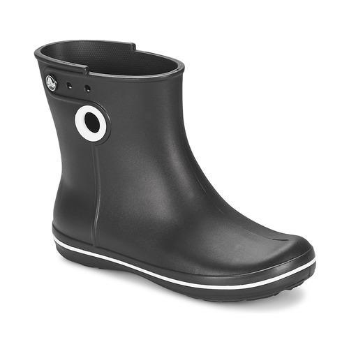 Shoes Women Wellington boots Crocs JAUNT SHORTY BOOT W-BLACK Black