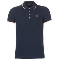 Clothing Men Short-sleeved polo shirts Diesel T RANDY NEW Marine