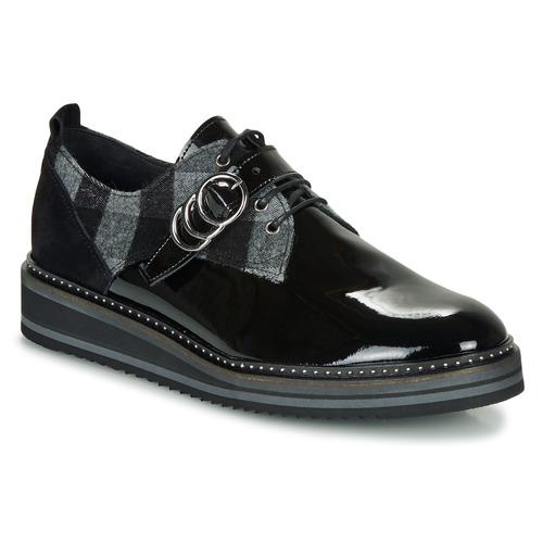 Shoes Women Derby Shoes Regard ROCSI V3 VERNIS Black