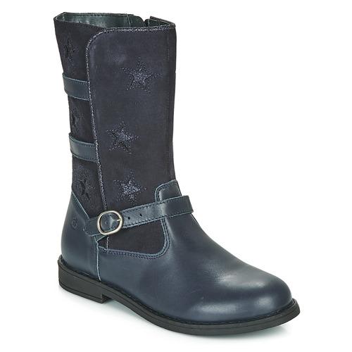 Shoes Girl High boots Citrouille et Compagnie HANDRE Marine
