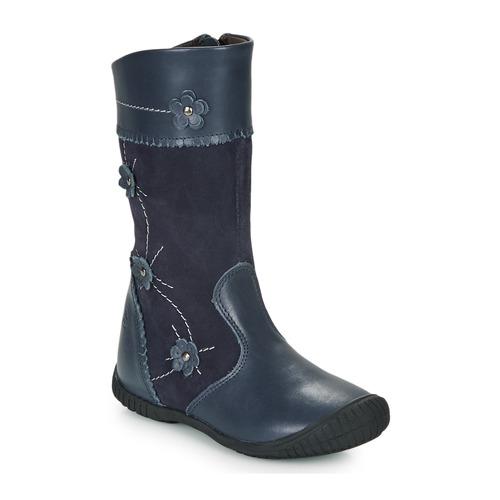 Shoes Girl High boots Citrouille et Compagnie AMATIS Marine