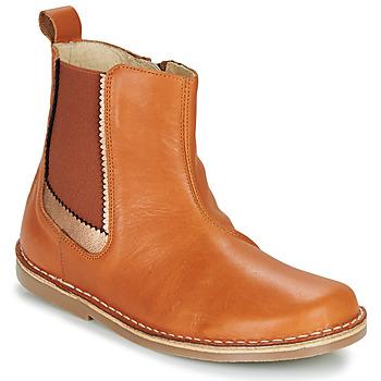 Shoes Girl Mid boots Citrouille et Compagnie LOUTE Camel