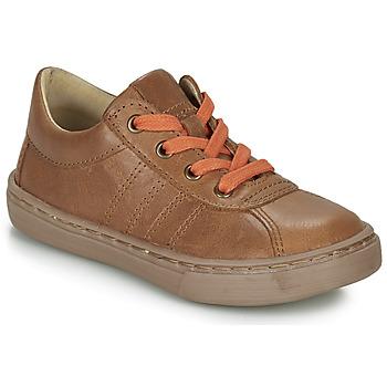 Shoes Boy Derby Shoes Citrouille et Compagnie LUKITO Camel