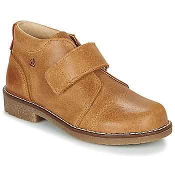 Shoes Boy Mid boots Citrouille et Compagnie LAPUPI Camel
