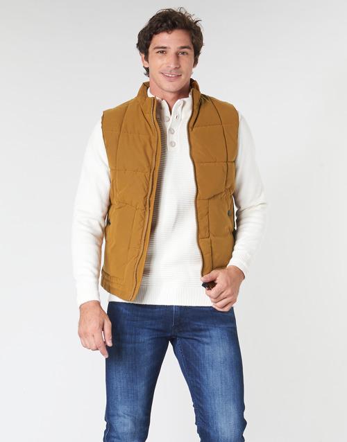 Clothing Men Duffel coats Oxbow L2JONBAY Camel