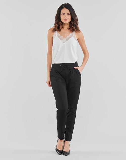 Clothing Women Wide leg / Harem trousers Les Petites Bombes W19V1103 Black