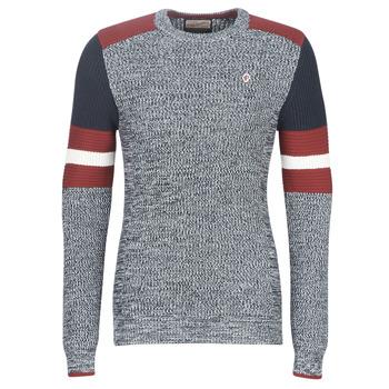 Clothing Men jumpers Petrol Industries M-3090-KWR227-5091 Grey / Blue / Red