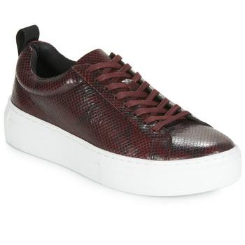 Shoes Women Low top trainers Vagabond ZOE PLATFORM Bordeaux