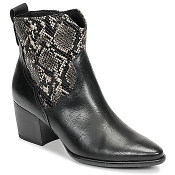Shoes Women Ankle boots Marco Tozzi  Black