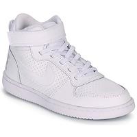 Shoes Children Hi top trainers Nike COURT BOROUGH MID PRE-SCHOOL White