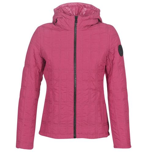 Clothing Women Duffel coats Desigual EDIMBURGO Red