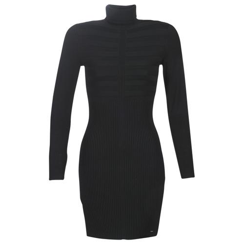 Clothing Women Short Dresses Morgan RMENTO Black
