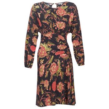 Clothing Women Short Dresses Derhy BANQUISE Black / Multicoloured