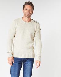 Clothing Men jumpers Schott PLOUTRIDER1 Beige