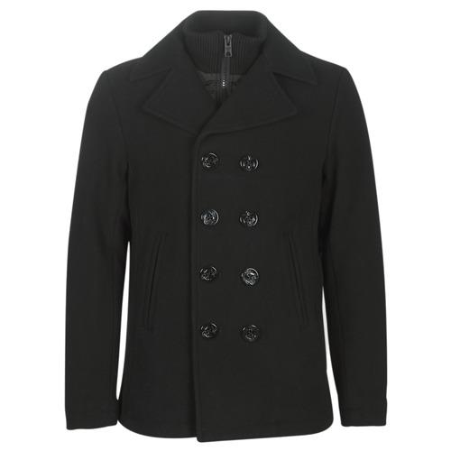 Clothing Men Coats Schott CYCLONE3 Black