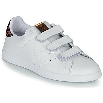 Shoes Women Low top trainers Victoria TENIS VELCRO PIEL White