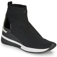 Shoes Women Hi top trainers MICHAEL Michael Kors SKYLER Black