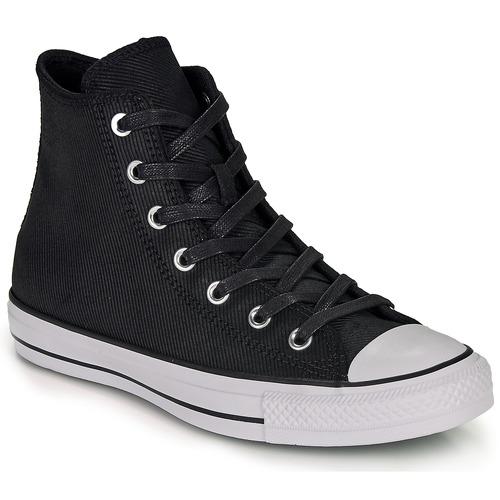 Shoes Women Hi top trainers Converse CHUCK TAYLOR ALL STAR RETROGRADE - HI  black