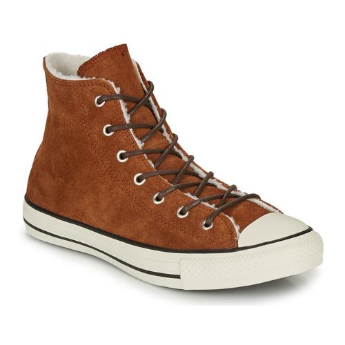 Shoes Women Hi top trainers Converse CHUCK TAYLOR ALL STAR - HI Brown