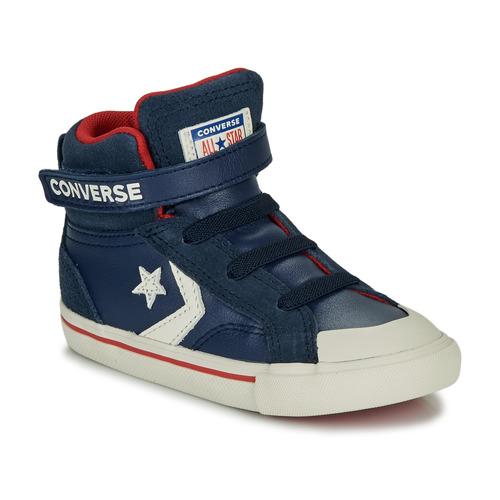 Shoes Children Hi top trainers Converse PRO BLAZE STRAP - HI Navy