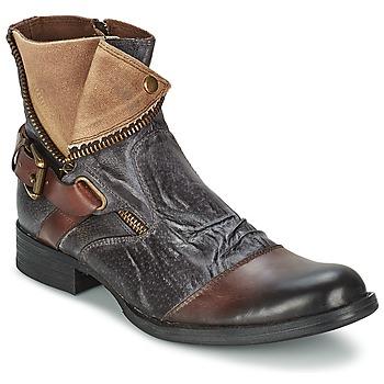Shoes Men Mid boots Kdopa DETROIT Brown