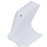 Shoe accessories Men Socks Polo Ralph Lauren ASX110 6PK CR PP-CREW-6 PACK White