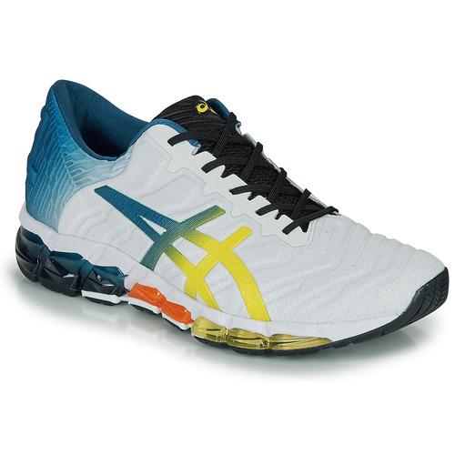Shoes Men Low top trainers Asics GEL-QUANTUM 360 5 White / Multicolour