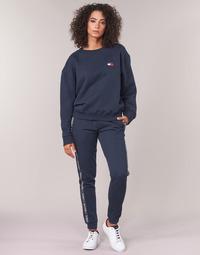 Clothing Women Tracksuit bottoms Tommy Hilfiger AUTHENTIC-UW0UW00564 Marine