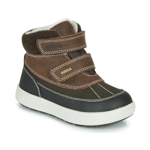 Shoes Children Mid boots Primigi PEPYS GORE-TEX Brown